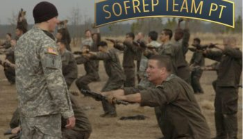 Special Operations Forces Selection PT Preparation Week 1, Day 6