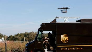 Watch: UPS Demonstrates Drone Package Delivery - Oops