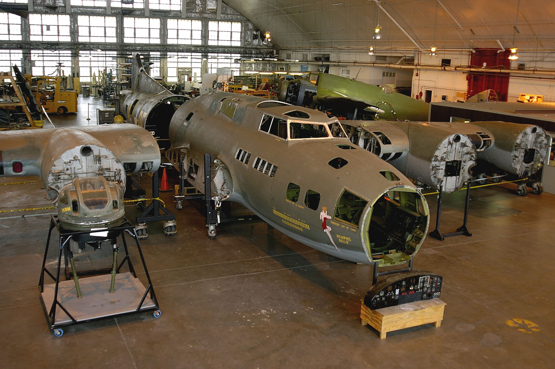 Watch: Historic Bomber 'Memphis Belle' Undergoes Rework and Restoration   SOFREP