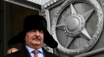 Link seen between Russia and Libyan commander Haftar: U.S. general