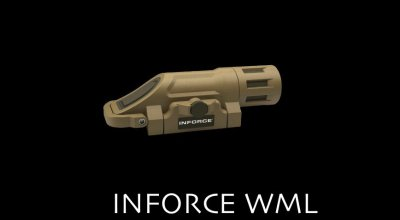 What weapons mounted light do you use? – Inforce WML