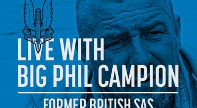 Watch: Live with Big Phil Campion, former British SAS- Mar 08, 2017