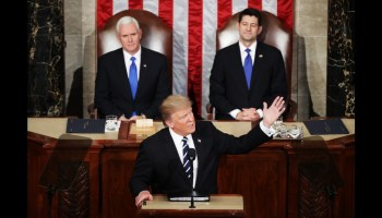 Trump's joint session speech looked presidential, but with a few rough patches
