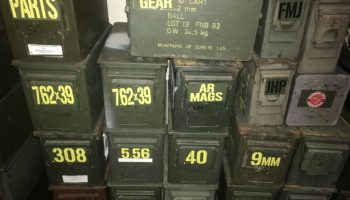 Stockpiling Ammo: How much and how?