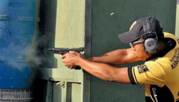 Army Pistol Training: Condition Black