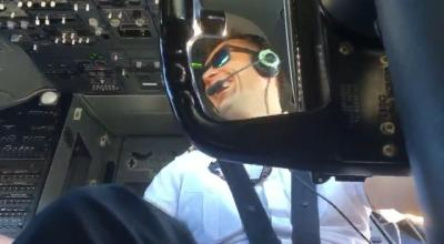 Watch: Viral Video! Boeing 737 Pilot Films What It Looks Like During a Gusty Landing!