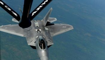 Photos of the Day: F-22 Raptors get thirsty down under