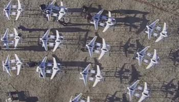 The Swarm! Low-cost Unmanned Aerial Vehicle swarming technology (LOCUST)