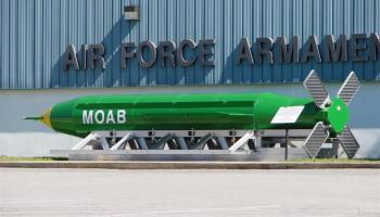 "Air Force Special Operations Drops ""MOAB"" on ISIS Tunnel Complex"