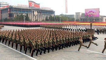 North Korean ground forces: We march better than you