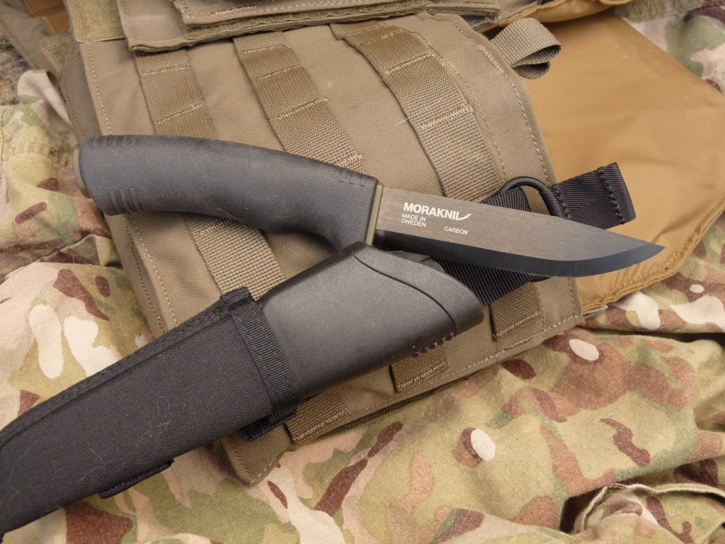 Morakniv Tactical Blade | Carbon Steel Excellence
