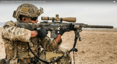Army picks Heckler & Koch sniper rifle to replace M110
