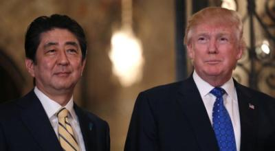 Japan PM Abe says he, Trump agree North Korea missile launch a 'serious threat'