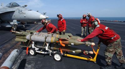 Air Force & Navy Needs More Bombs (Watch Navy Load Bombs by Hand)