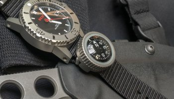 Prometheus Design Werx | Expedition Watch Band Compass | Quick Look