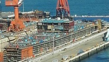 First China-built carrier on target for April 23 launch