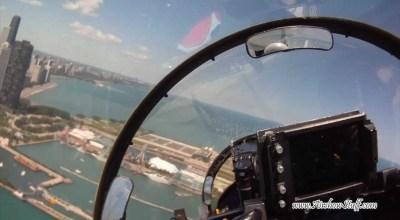 Watch: Ride along on an F-18 demonstration flight!
