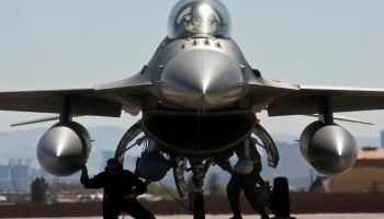 Breaking: F-16 Crashes at Nevada Test and Training Range Near Nellis AFB Las Vegas