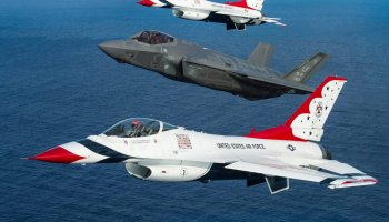 Will the F-35 Lightning Be the Next Thunderbird?