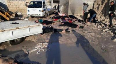 Syrian Army reportedly kills dozens in suspected chemical attack