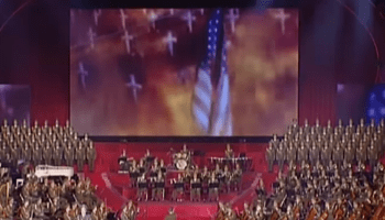 Watch: North Korean national celebration culminates with video of ICBM strike on the United States