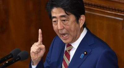 Japanese Prime Minister Abe claims North Korea is capable of launching sarin gas attack