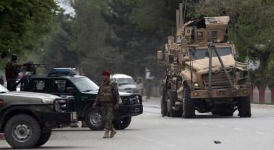 Car bomb detonates near the US Embassy in Kabul, kills 8 civilians and wounds dozens including 3 US service members