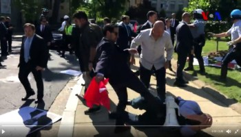 Turkey condemns U.S. over 'aggressive' acts against Erdogan's guards during D.C. visit