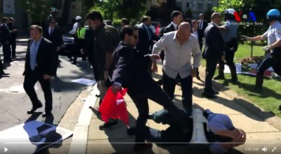 Turkey condemns U.S. over 'aggressive' acts against Erdogan's guards during D.C. visit