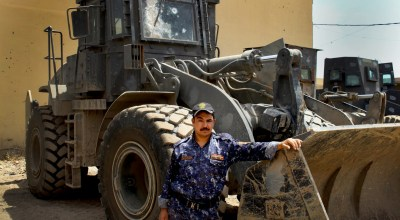 Bulldozers have become more crucial — and more vulnerable — in the fight against the Islamic State