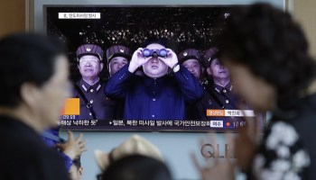 North Korea's Kim celebrates test of 'perfect weapon system'