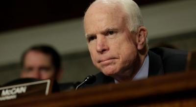 Senator McCain says Putin bigger threat than ISIS