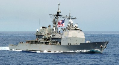 US Navy ship collides with fishing vessel off Korean coast