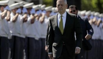 SECDEF James Mattis on partisan politics and what 'keeps him awake at night'
