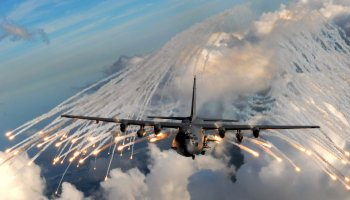 Watch: AC-130 Gunship live fire exercise. Take a ride on the Spooky!