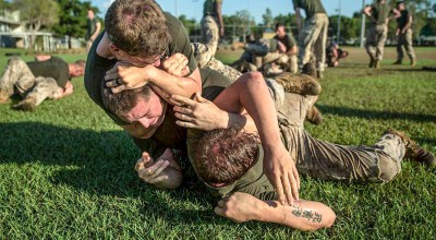 Marine Corps Infantry: Like it or not, it's a fight club