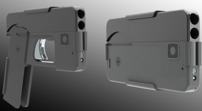 Is this smartphone-shaped pistol brilliant, or the worst idea ever?