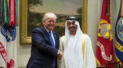 Trump and Mattis meet with UAE crown prince to finalize new defense partnership