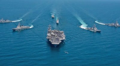 The US and South Korean navies just put on a massive show of force amid North Korean nuclear tensions