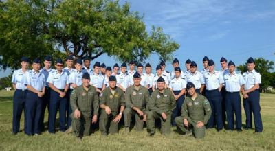 Top high school Civil Air Patrol Cadets graduate from pilot training course at Laughlin Air Force Base