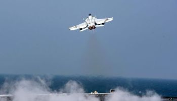 US F-18 Shoots Down Syrian SU-22 After It Attacks SDF Troops