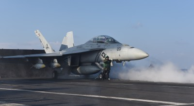 USS George H.W. Bush launches anti-ISIS strikes from Mediterranean