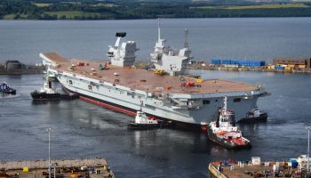 Russian Defense Ministry: UK's new carrier 'merely a large convenient naval target'