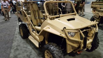 Special Operations Forces vehicles come front and center