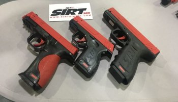 Shot Indicating Resetting Trigger (SIRT) Training Pistol: The difference between theory and practice