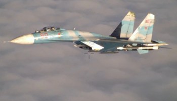 Russian fighter jet comes within 5 feet of U.S. reconnaissance plane over the Black Sea