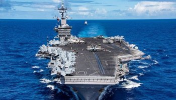 USS Carl Vinson CVN 70 Returns to San Diego from WESTPAC Cruise