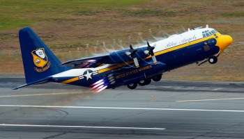 Fat Albert Returns to Duty for the US Navy Blue Angels Flight Team!