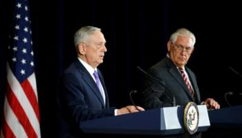 Rex Tillerson, James Mattis call on China to increase pressure on North Korea in high-level talks