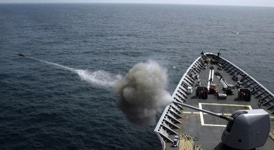 Navy is looking to fire rail gun projectiles from existing 5-inch guns, and it could mean huge changes in Naval warfare